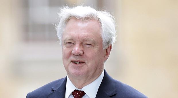 David Davis leaves door open to leaving EU without a deal