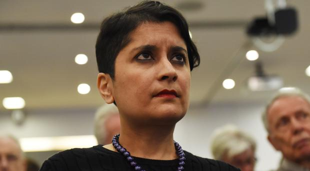 Shadow attorney general Shami Chakrabarti says free movement of people could be included in a Brexit deal (David Mirzeoff/PA)