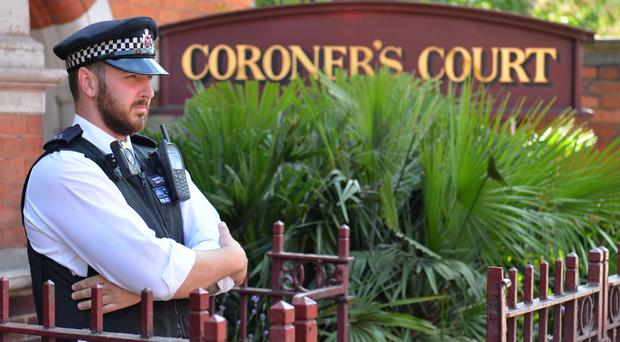 Westminster Coroner's Court heard details over the youngster's death (Dominic Lipinski/PA)