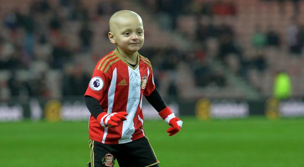 Bradley Lowery has the rare childhood cancer neuroblastoma (Anna Gowthorpe/PA)