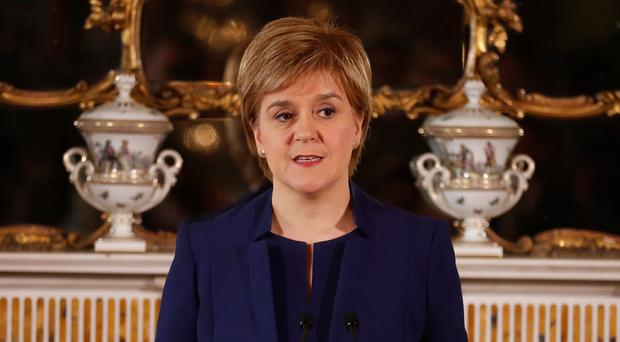 The First Minister has been reflecting on her plans for a second vote (Russell Cheyne/PA)