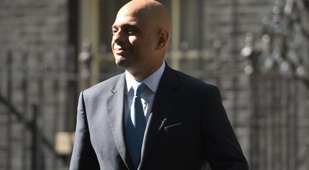 Mr Javid said the combustibility test has been failed by every building examined so far (David Mirzoeff/PA)