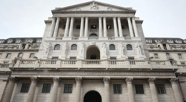 The Bank of England warned over surging levels of unsecured consumer borrowing (Philip Toscano/PA)