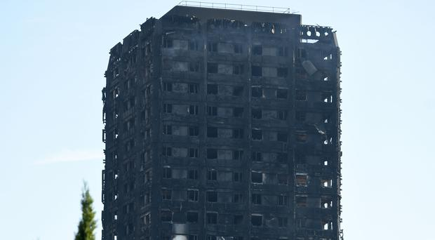 Fires in high-rise flats fell more rapidly than those in houses, bungalows, converted flats and medium and low-rise blocks, stats show (David Mirzoeff/PA)