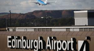 Edinburgh Airport is Scotland's busiest hub (Danny Lawson/PA)