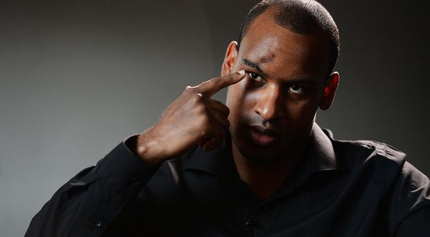 Wayne marques fought off all three of the London Bridge attackers single-handedly (John Stillwell/PA)