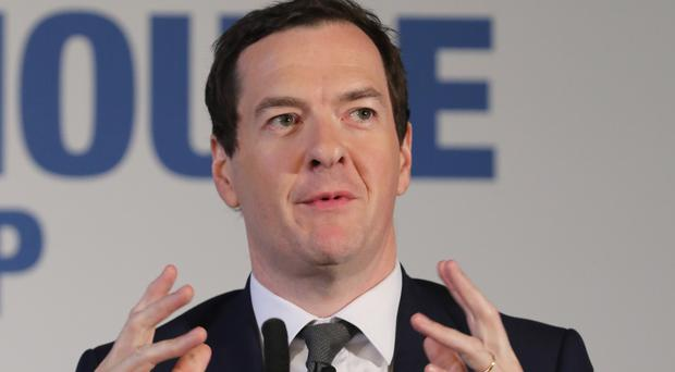 The new role will allow Mr Osborne to continue his work on the Northern Powerhouse initiative (Peter Byrne/PA)