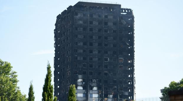 The man allegedly came forward in the immediate aftermath of the fire in west London (David Mirzoeff/PA)