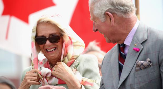 The Prince of Wales and the Duchess of Cornwall at the start of their visit to Canada (Chris Jackson/PA)