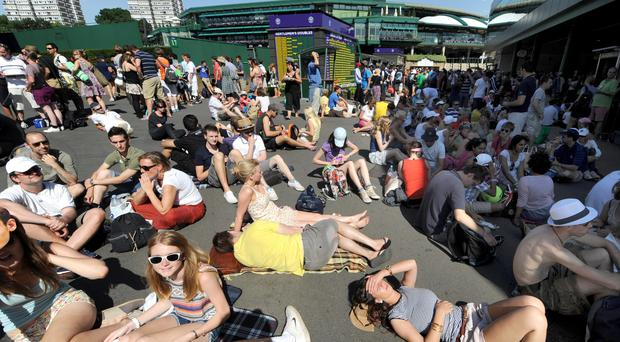 There are plenty of people who require rooms in Wimbledon during the championships (Anthony Devlin/PA)