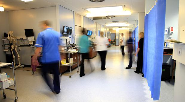 A ward at the Royal Liverpool University Hospital (Peter Byrne/PA)