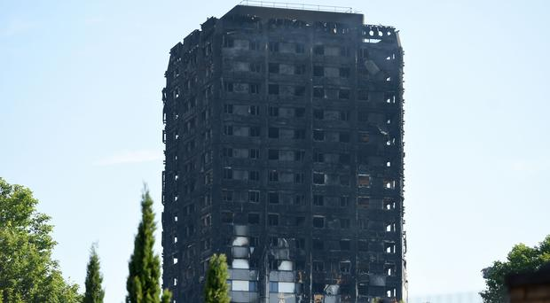Around 80 people died in the fire at Grenfell Tower (David Mirzoeff/PA)