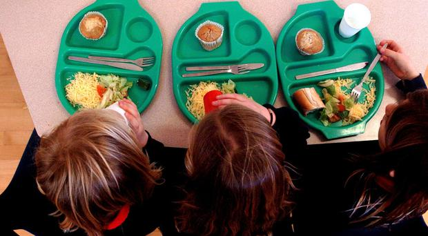 The Conservatives pledged to scrap universal free lunches for infant school children in England (Chris Radburn/PA)