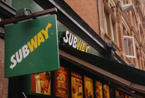 The new drive-thru Subway will open on the Boucher Road later this year (Ian West/PA)
