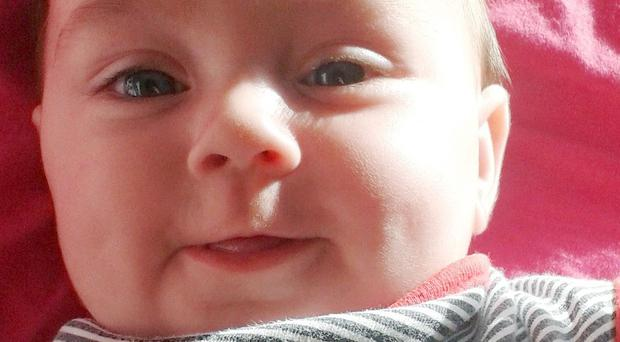 Baby Aya, who was murdered by her father on Christmas Day (Avon and Somerset Police/PA)