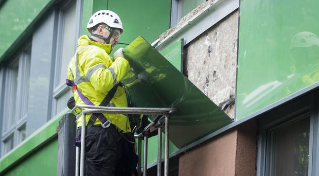 Tests have been run on cladding across the country (Danny Lawson/PA)
