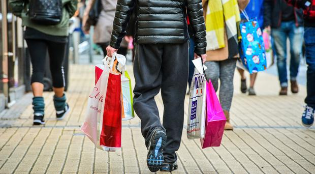 Overall shop prices were down 0.3% year-on-year, the shallowest deflation rate since November 2013. (Ben Birchall/PA)