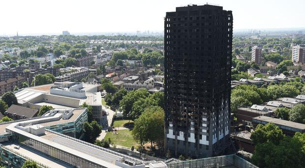 The Grenfell Tower fire killed at least 80 people (David Mirzoeff/PA)