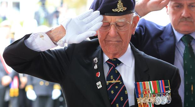 Dunkirk veteran Garth Wright (PA)