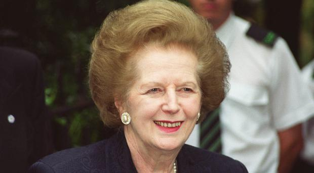 A statue of Margaret Thatcher should go ahead says Theresa May (William Conran/PA)