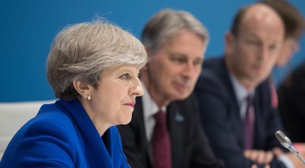 Theresa May is aiming to build on trade relationships with the US and Japan (Matt Cardy/PA)