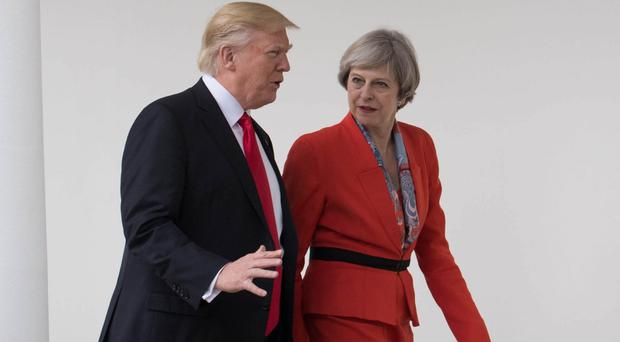Donald Trump will visit United Kingdom  only in 2018