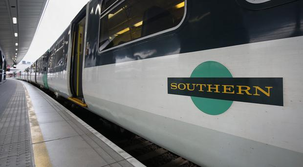 Southern Railway will be hit by a strike on Monday (Dominic Lipinski/PA)