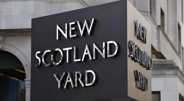 Scotland Yard said enquiries into the incident were continuing (Kirsty O'Connor/PA)