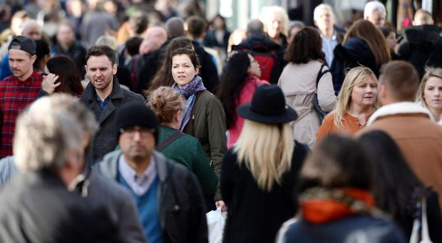 The UK is close to becoming the second most populated country in the European Union (Stefan Rousseau/PA)