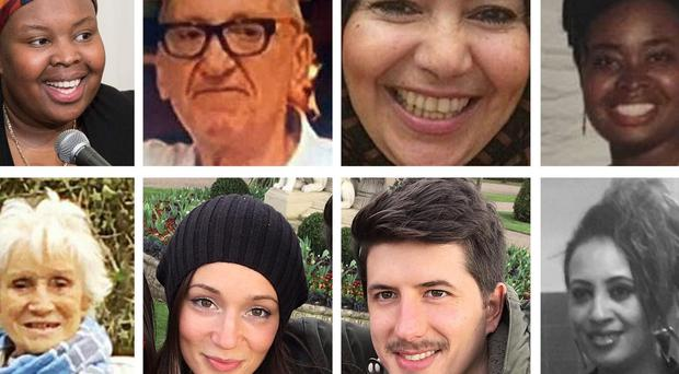 Victims of the Grenfell Tower fire (PA)