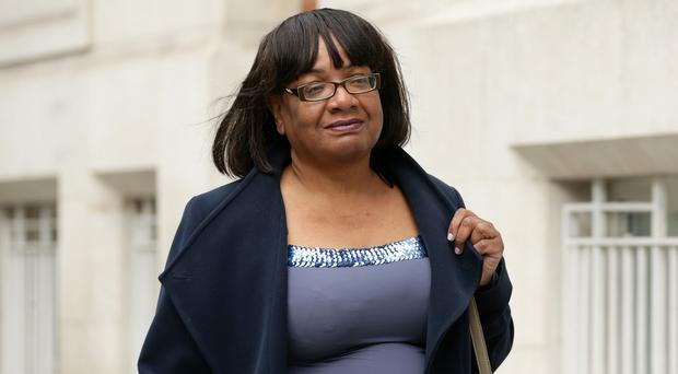 Labour accused the Tories of running a smear campaign against Diane Abbott (Yui Mok/PA)