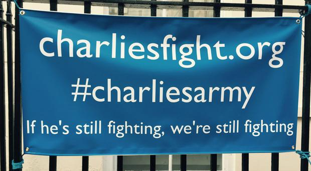 a fund launched to cover the cost of foreign treatment for terminally-ill baby Charlie Gard has topped £1.3 million (Brian Farmer/PA)