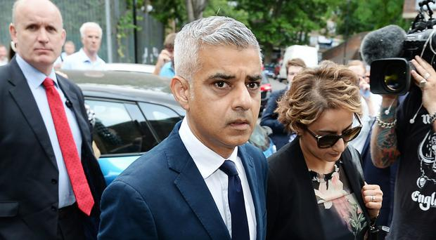 Mayor of London Sadiq Khan (John Stillwell/PA)