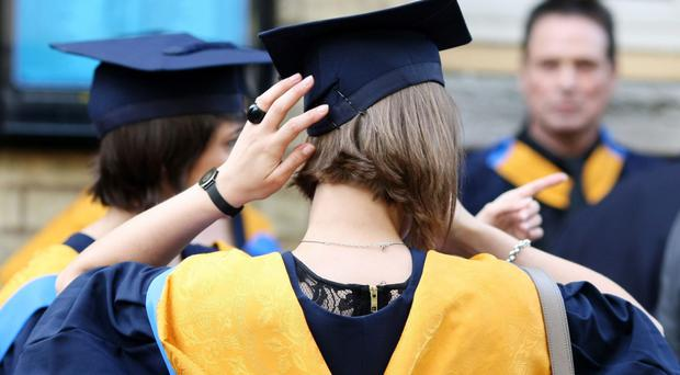 Number of would-be students applying to university has fallen (Chris Radburn/PA)