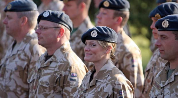 From September, the RAF will open its recruitment to women for the first time (Chris Radburn/PA)