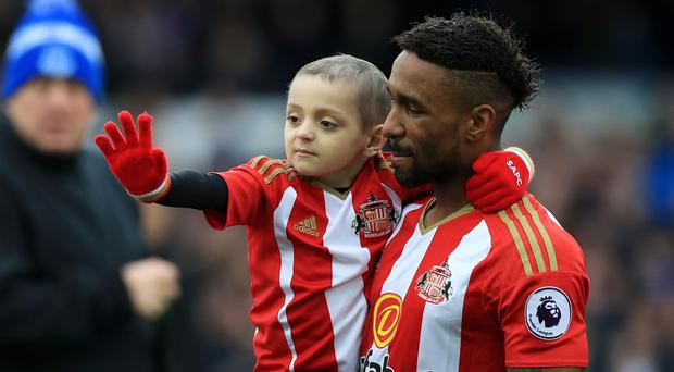 Bradley Lowery died of cancer last week (Peter Byrne/PA Wire)