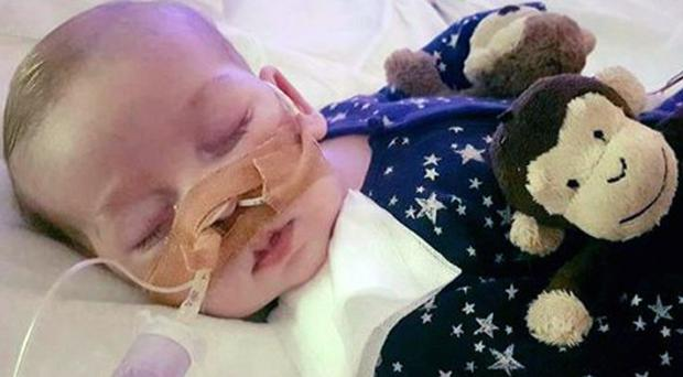 Charlie Gard is being cared for at Great Ormond Street (Family handout)