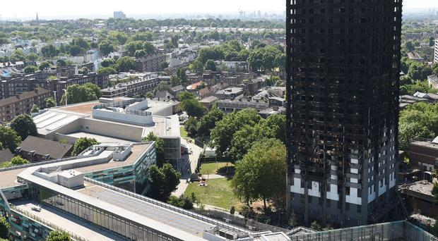 A march will honour victims of the Grenfell Tower disaster (David Mirzoeff/PA)