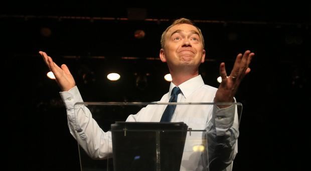 Tim Farron quit on June 14 (Yui Mok/PA)