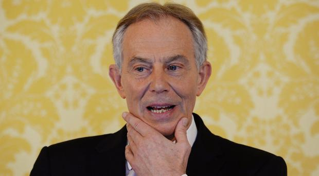 Tony Blair suggested the