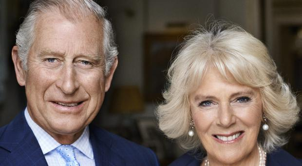 This photograph of the Prince of Wales and the Duchess of Cornwall has been released to mark the Duchess's 70th birthday (Mario Testino/PA)