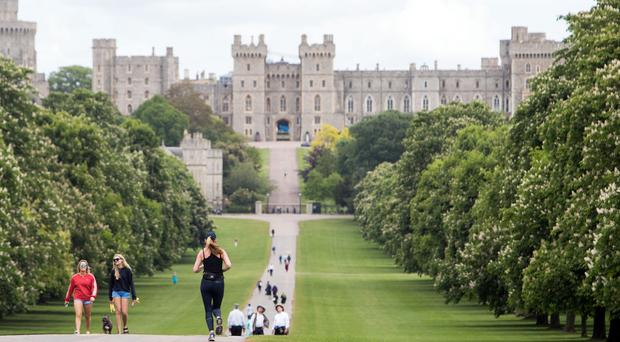 Windsor is the oldest and largest continually occupied castle in Europe (Steve Parsons/PA)