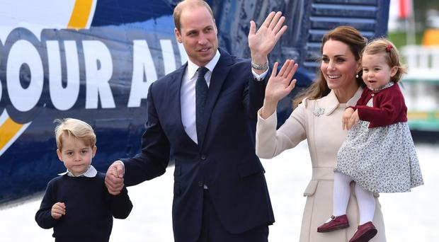 George and Charlotte to join 'Brexit diplomacy' tour to Poland and Germany (Mark Large/Daily Mail/PA)