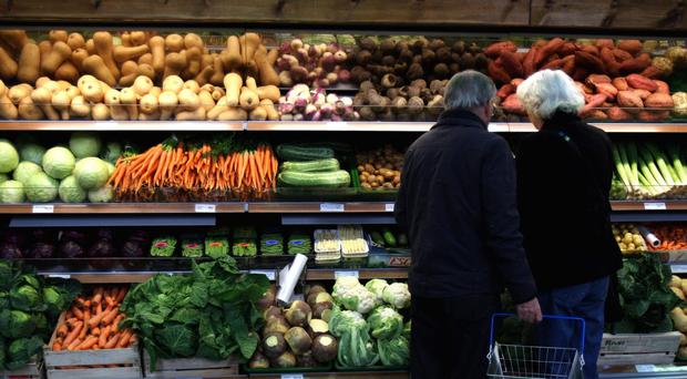 The EU provides 31% of the UK's food (PA)