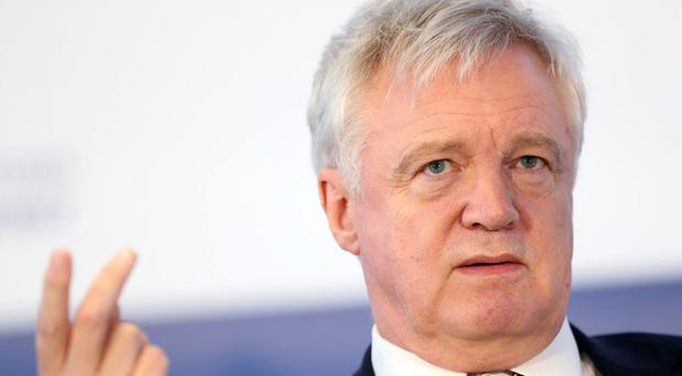 Brexit Secretary David Davis has come under fire from Vote Leave campaign director Dominic Cummings ( Jonathan Brady/PA)