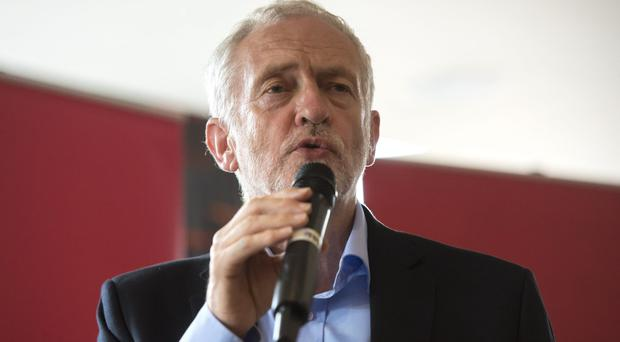 Jeremy Corbyn is targeting 95 Tory marginal seats as part of a summer campaign (Ben Stevens/PA)
