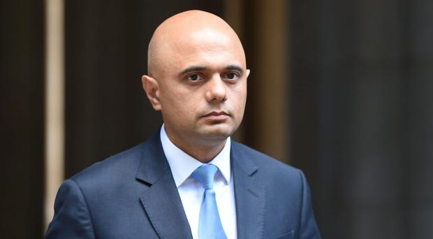 Communities Secretary Sajid Javid said he was racially abused during the General Election campaign (David Mirzoeff/PA)