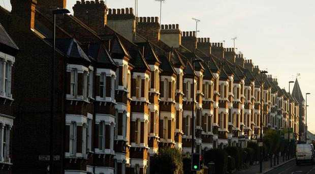 House price growth continues to cool, figures show (Dominic Lipinski/PA)