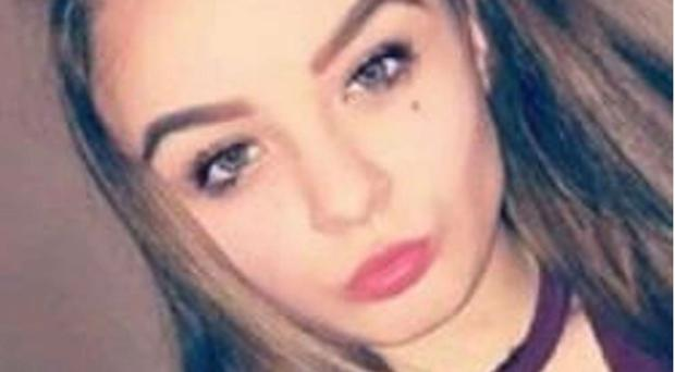 Jasmine Thornber, one of the two 12-year-old schoolgirls who were found by police after going missing for 48 hours (Child Rescue Alert/PA)