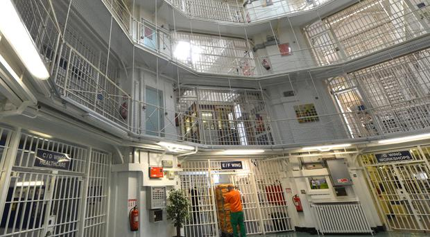 Scene inside HMP Pentonville in London (Anthony Devlin/PA)